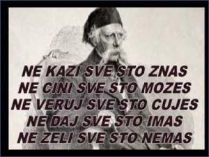 Vuk Karadzic, poslovice